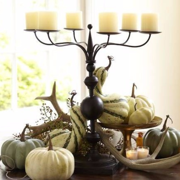 NEW! Pottery Barn Spire Six Arm Candelabra